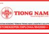Jawatan Kosong Terkini Tiong Nam Logistics Solutions