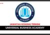 Jawatan Kosong Terkini Universal Business Academy