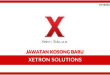 Jawatan Kosong Terkini Xetron Solutions Sdn Bhd