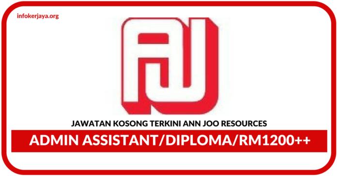 Jawatan Kosong Terkini Ann Joo Resources