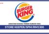 Jawatan Kosong Terkini Store Keeper Di Burger King