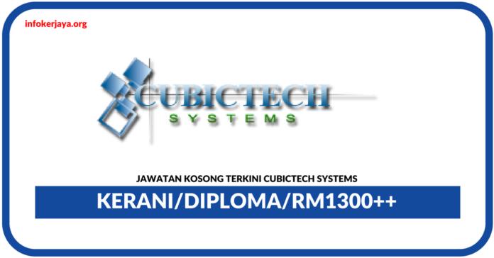 Jawatan Kosong Terkini Admin Di Cubictech Systems