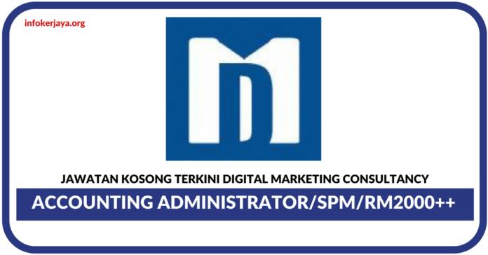 Jawatan Kosong Terkini Digital Marketing Consultancy