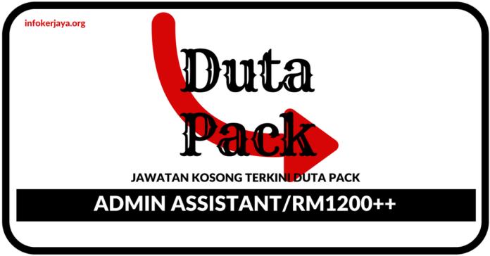 Jawatan Kosong Terkini Duta Pack Enterprise