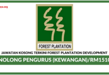 Jawatan Kosong Terkini Forest Plantation Development