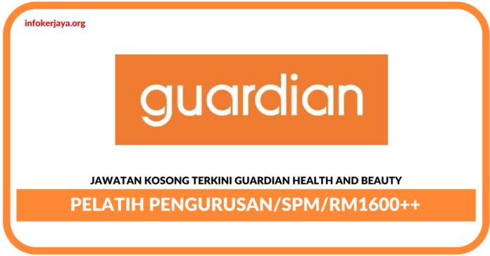 Jawatan Kosong Terkini Pelatih PengurusanDi Guardian Health And Beauty