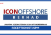 Jawatan Kosong Terkini Icon Offshore Berhad