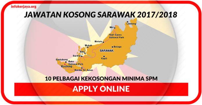 Jawatan Kosong Terkini Negeri Sarawak 2017 / 2018