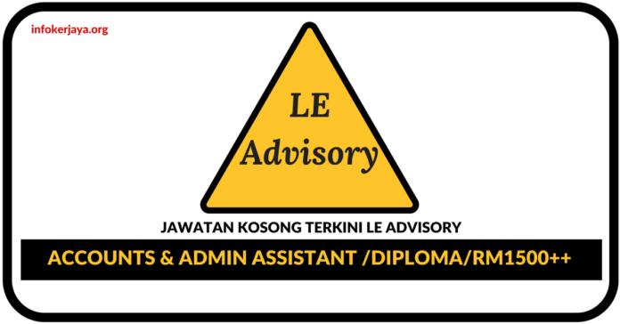 Jawatan Kosong Terkini LE Advisory