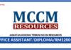 Jawatan Kosong Terkini MCCM Resources