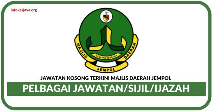 Jawatan Kosong Terkini Majlis Daerah Jempol