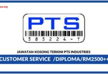 Jawatan Kosong Terkini PTS Industries