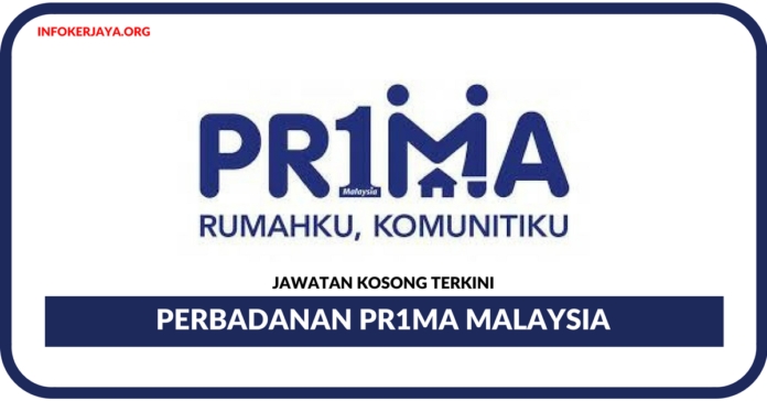 Jawatan Kosong Terkini Perbadanan Pr1ma Malaysia