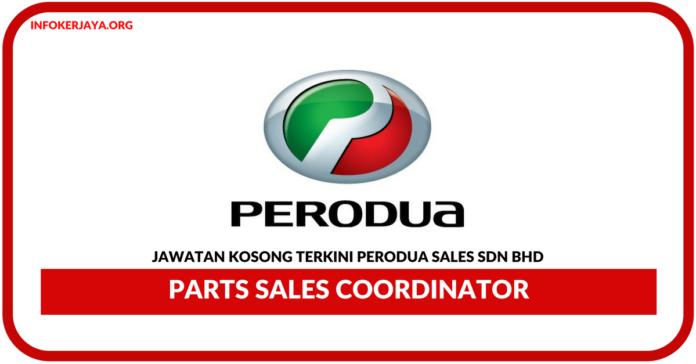 Jawatan Kosong Terkini Perodua Sales