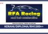 Jawatan Kosong Terkini Kerani Di RFA Racing