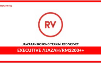 Jawatan Kosong Terkini Red Velvet