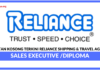 Jawatan Kosong Terkini Reliance Shipping & Travel Agencies