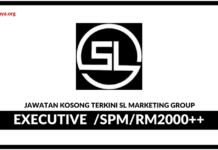 Jawatan Kosong Terkini SL Marketing Group