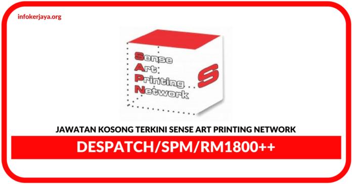 Jawatan Kosong Terkini Despacth Di Sense Art Printing Network