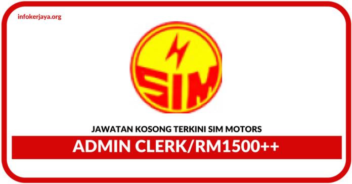 Jawatan Kosong Terkini Sim Motors