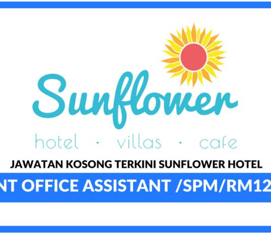 Jawatan Kosong Terkini Sunflower Hotel