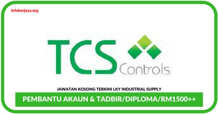 Jawatan Kosong Terkini Pembantu Akaun & Tadbir Di TCS Controls