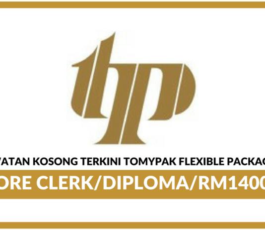 Jawatan Kosong Terkini Tomypak Flexible Packaging