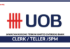 Jawatan Kosong Terkini United Overseas Bank