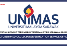 Jawatan Kosong Terkini Universiti Malaysia Sarawak (Unimas)