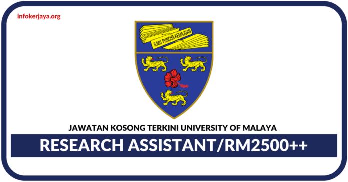 Jawatan Kosong Terkini University of Malaya