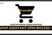 Jawatan Kosong Terkini Wancalim Sdn Bhd