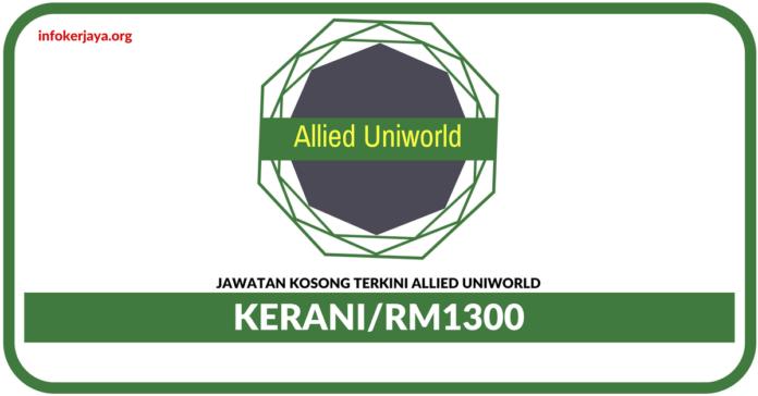 Jawatan Kosong Terkini Kerani Di Allied Uniworld