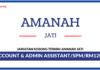 Jawatan Kosong Terkini Admin Assistant Di Amanah Jati