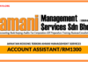 Jawatan Kosong Terkini Account Assistant Di Amani Management Services
