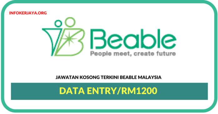 Jawatan Kosong Terkini Data Entry Di Beable Malaysia