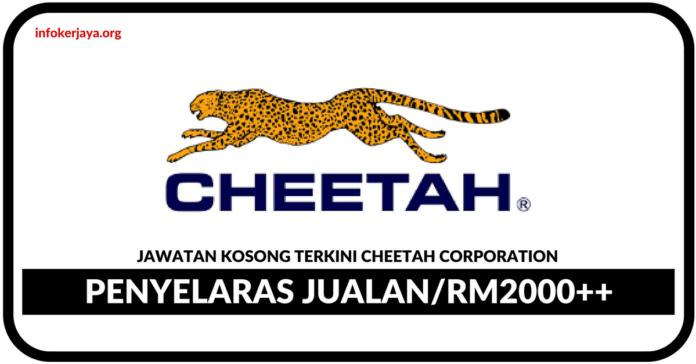 Jawatan Kosong Terkini Penyelaras Jualan Di Cheetah Coporation
