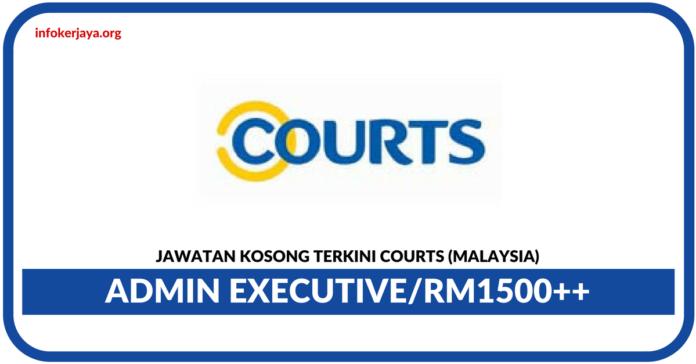 Jawatan Kosong Terkini Admin Executive Di Courts