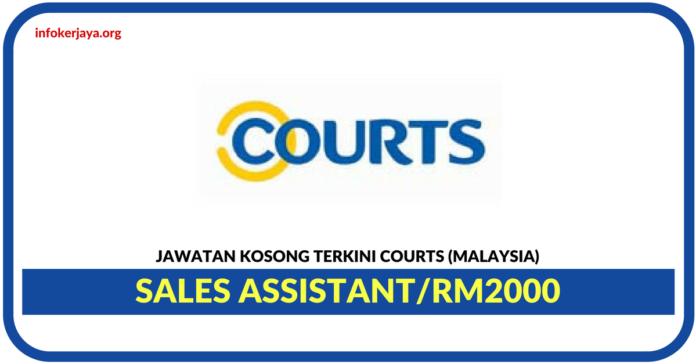 Jawatan Kosong Terkini Sales Assistant Di Courts Malaysia