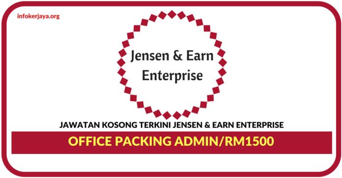 Jawatan Kosong Terkini Jensen & Earn Enterprise