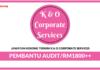 Jawatan Kosong Terkini Pembantu Audit Di K & O Corporate Services