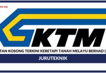 Jawatan Kosong Terkini Keretapi Tanah Melayu Berhad