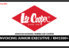 Jawatan Kosong Terkini Invoicing Junior Executive Di Lee Cooper