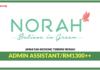 Jawatan Kosong Terakini Admin Assistant Di Norah
