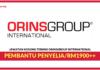 Jawatan Kosong Terkini Pembantu Penyelia Di ORINSGROUP International