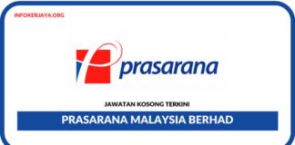Jawatan Kosong Terkini Prasarana Malaysia Berhad