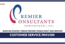Jawatan Kosong Terkini Pegawai Pentadbiran Di Premier Consultancy And Services