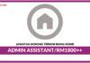 Jawatan Kosong Terkini Admin Assistant Di Ruma Home