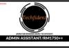 Jawatan Kosong Terkini Admin Assistant Di Techfident