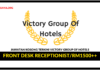 Jawatan Kosong Terkini Front Desk Receptionist Di Victory Group Of Hotels