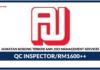 Jawatan Kosong Terkini QC Inspector Di Ann Joo Management Services